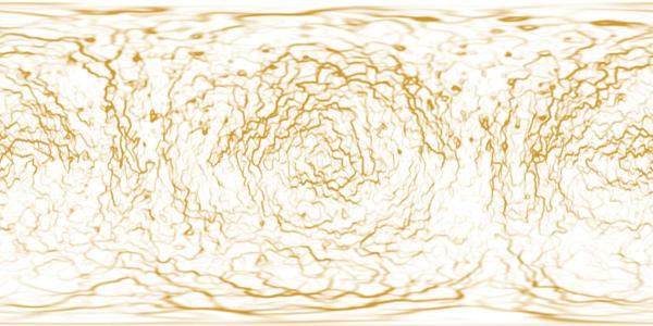 Kerberos Moon Of Plluto: Ice Planet Textures